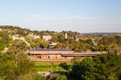View over Castlemaine — Stock Photo