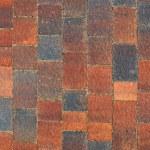 The fragment of sidewalk pavement brick pattern on promenade — Stock Photo #54943531