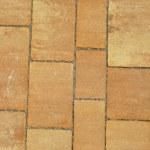 The fragment of sidewalk pavement brick pattern on promenade — Stock Photo #54943837
