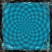 Grunge sfondo blu. astratto texture vintage con telaio e — Foto Stock