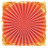 红色摇滚背景。抽象的老式质地,帧和 b — 图库照片