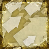 Yellow, Gold, grunge background. Abstract vintage texture with f — Stock Photo