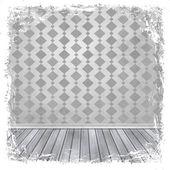 白、灰色、銀のグランジ背景。抽象的なビンテージ テクスチャ — ストック写真