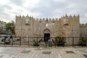 Damascus Gate entry to Old City Jerusalem Palestine Israel — Foto de Stock