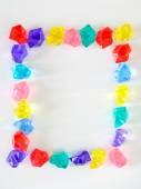 Colorful shiny jewels — Stock Photo