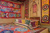 Traditional Central Asian embroidery — Stock Photo