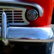 Fragment of red retro car — Stock Photo #70725083