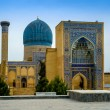 Gur Emir mausoleum of the Asian conqueror Tamerlane (also known as Timur) in Samarkand, Uzbekistan — Stock Photo #72293627