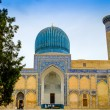Gur Emir mausoleum of the Asian conqueror Tamerlane (also known as Timur) in Samarkand, Uzbekistan — Stock Photo #72293749