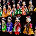 Traditional Eastern doll in Bukhara Bazaar, Uzbekistan — Stock Photo #75815527