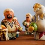 Uzbek ceramic figurine - national souvenir — Stock Photo #80054880