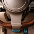 Airbag sign on steering wheel of car. — Stock Photo #69966773