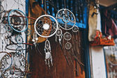 Dreamcatcher amulet charm joss periapt souvenir relic — Stock Photo