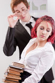 Man VS woman annoyances — Stock Photo