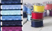 Cuciture colore — Foto Stock
