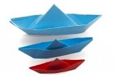 Paper boat — Stock Photo