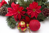 Christmas ornaments — Foto Stock