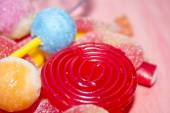 Assortment of candies — Stock Photo