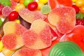 Assortment of candies — Stock Photo