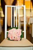 Bouquet on a chair 710. — Stock Photo