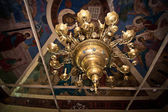 Chandelier in church 754. — Stock Photo
