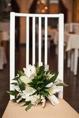 Bouquet on a chair 842. — Stok fotoğraf