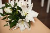 Bouquet on a chair 843. — Stok fotoğraf