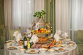 Laid the table 937. — Stock Photo