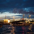 City of St. Petersburg, night views from the motor ship 1194. — Stock Photo #55886873