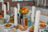 Hall sieraad op bruiloft 1300. — Stockfoto