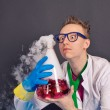 Постер, плакат: Entertaining chemistry and mad scientists 1537