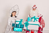 People have control over gifts 1524. — Stock Photo