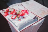 Table for weddings 1612. — Stock Photo
