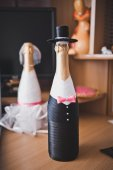 Clothes for bottles 1684. — Stock Photo