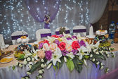 Banquet room with ornaments 1854. — Stock Photo