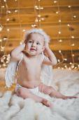 Small angel 2938. — Stock Photo