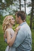 Embraces in wood 3255. — Stock Photo