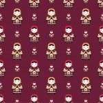 Russian doll matreshka seamless pattern — Stock Vector #62504081