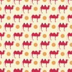 Camel pattern — Stock Vector #65835677