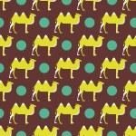 Camel pattern — Stock Vector #65835837