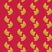 Butterflies pattern — Stock Vector