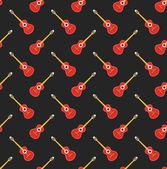 Guitar pattern — Stock Vector