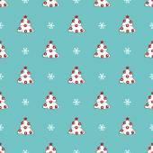 クリスマス ツリーのパターン — ストックベクタ
