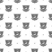 Horse logo pattern — Stock Vector