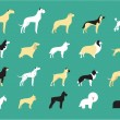 ������, ������: Dog breeds illustration