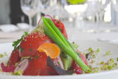 Restaurant Food By Chef — Stock Photo