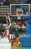 Basketball action — Stock Photo
