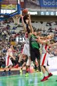Basketball block — Stock Photo
