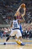 Basketball-aktion — Stockfoto