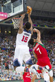 Andre Drummond of USA Team — Stock Photo
